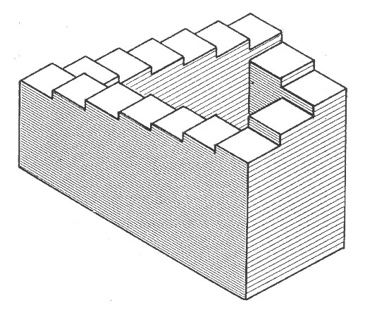 Colecci n de ilusiones pticas e im genes imposibles - Figuras geometricas imposibles ...