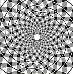 Ilusion espiral de Fraser